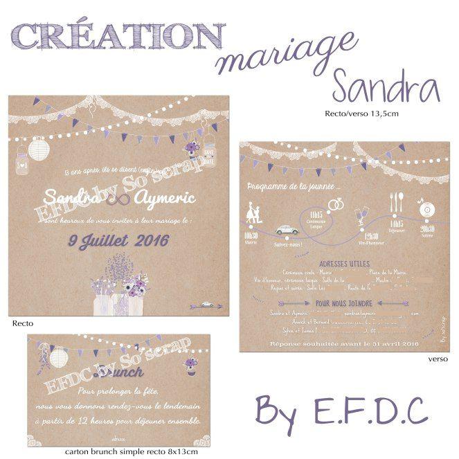 Fabuleux FPM-sandra | IDÉES MARIAGE | Pinterest | Préparation mariage  YM81