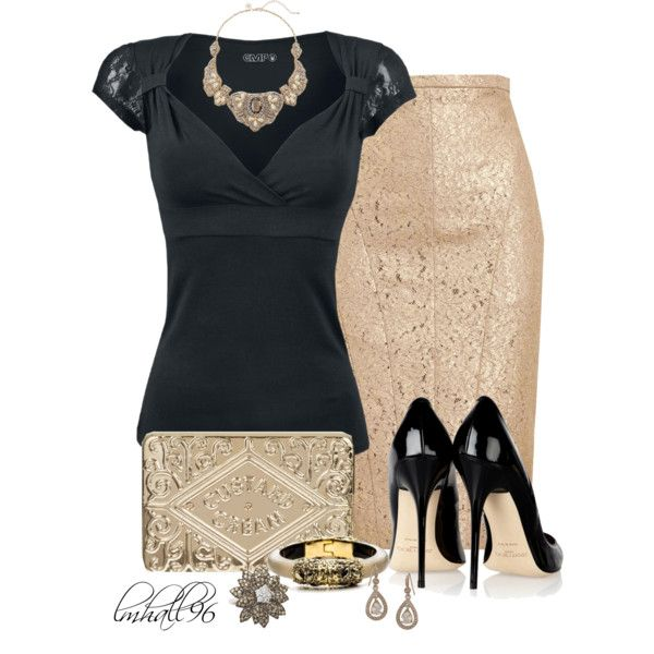 """A Little Lace"" by lmhall96 on Polyvore"
