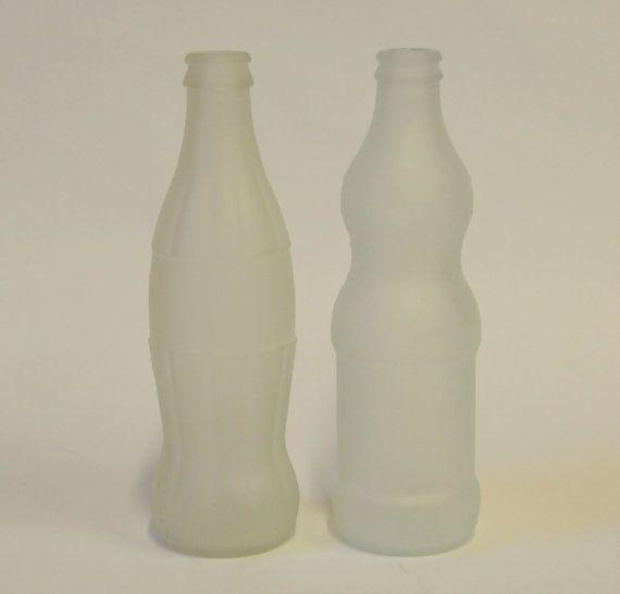 Reciclado de mate de Coca Cola / Fanta botella florero