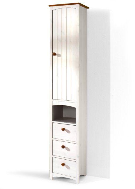 Platzsparender schmaler Badezimmer Hochschrank Paula  Honey and Honey Home  Tall cabinet