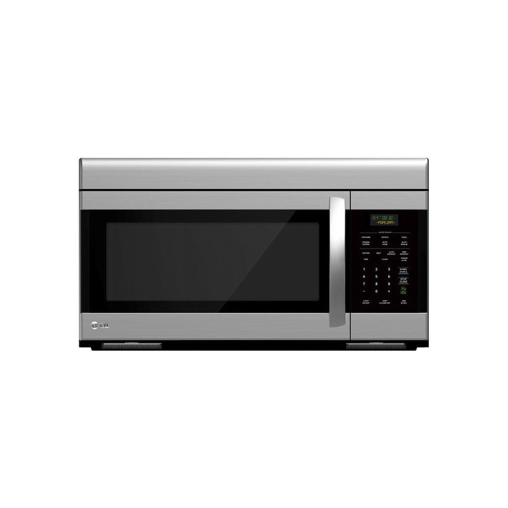 lg lmv1683st refurbished 16 cubic foot non sensor over the - Non Stainless Steel Appliances