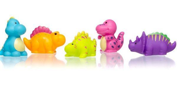 Dinosaur Duck Water Squirters Pack of 4