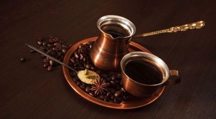 طريقة عمل القهوة العربية السادة Recipe Arabic Coffee Coffee Works Turkish Coffee Set
