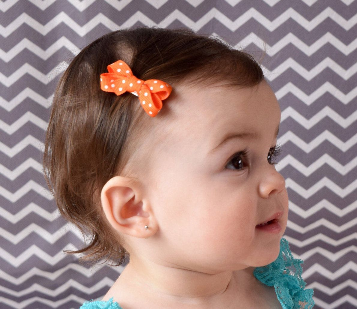Baby Hair Bows Toddler Fine Clip Clips For Toddlers Hairbows Bow