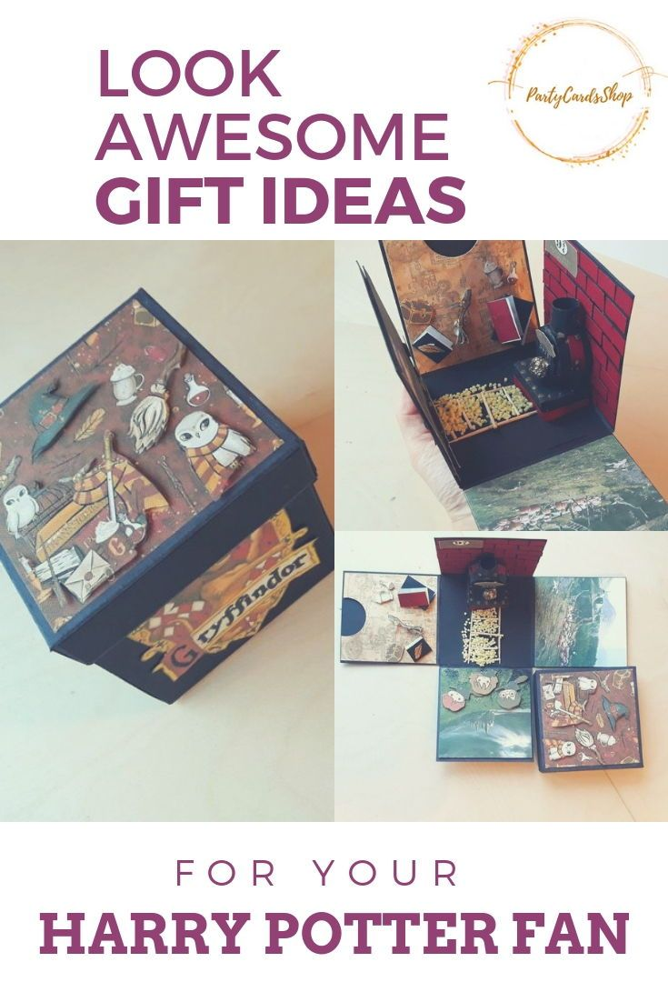 Harry Potter Gift Ideas For Your Friend Surrise Them With This Cute Harry Potter Exploding Box Harry Potter Gifts Harry Potter Cards Harry Potter Christmas