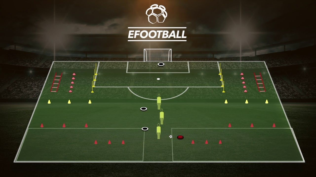 Circuito Fisico : Fútbol circuito físico técnico con finalización calentamiento