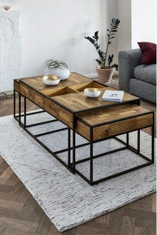 Best Jefferson Nest Of 3 Coffee Table In 2020 With Images 400 x 300