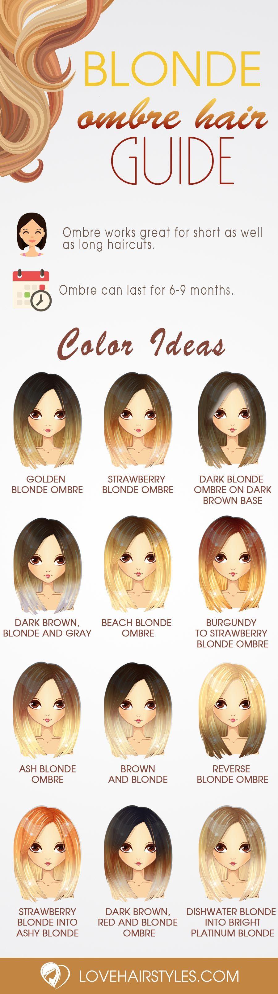 stunning blonde ombre hairstyles hair pinterest hair hair