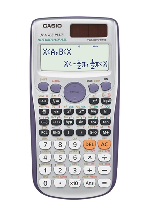 The Casio Scientific Calculator Has A Large Natural Textbook Display That Shows Mathematical Express Scientific Calculators Mathematical Expression Pre Algebra