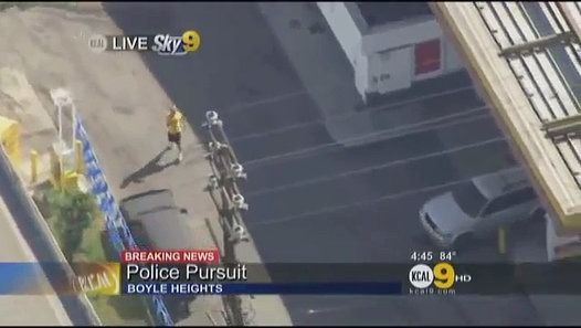 Police Chase Los Angeles
