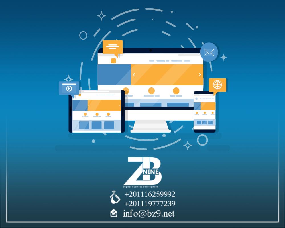 Website Design And Development Company Based In Egypt Bz9 Website Design Services Website Design Fun Website Design
