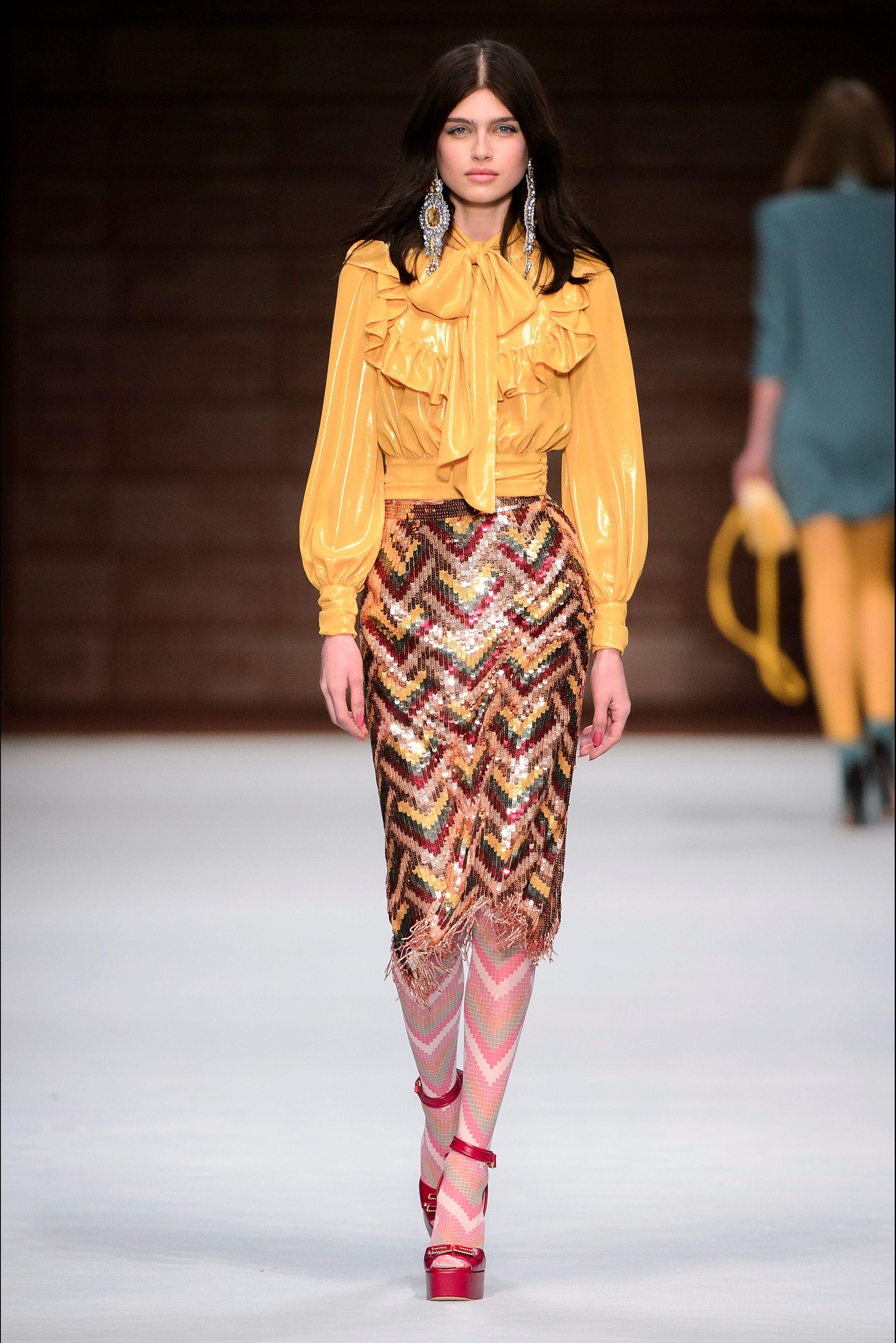 b22f1fd8594e7b Elisabetta Franchi Milano - Collections Fall Winter 2018-19 - Shows -  Vogue.it