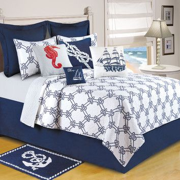 C & F Enterprises Knotty Buoy Quilt Collection