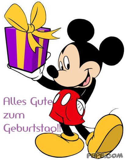 bildergebnis f r alles gute zum geburtstag clip art pinterest mickey mouse pictures. Black Bedroom Furniture Sets. Home Design Ideas