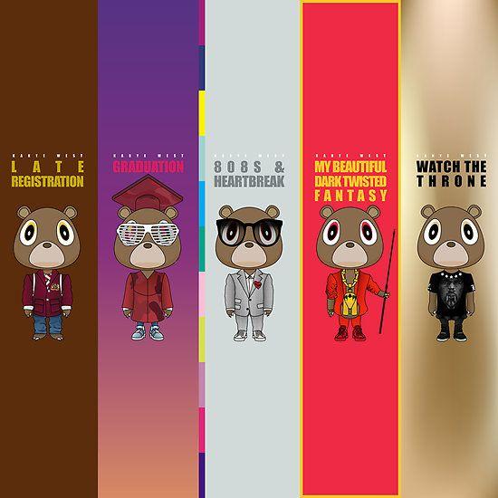 Dropout Bears Kanye West Bear Kanye West Graduation Kanye