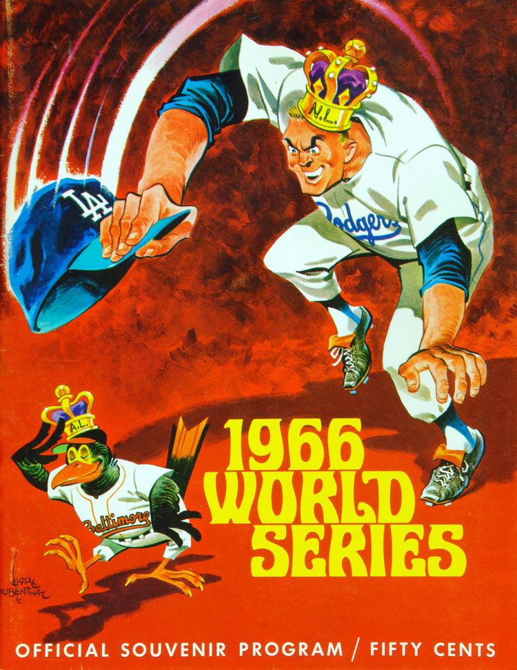 Fall Classics—World Series Program Covers for the Ages