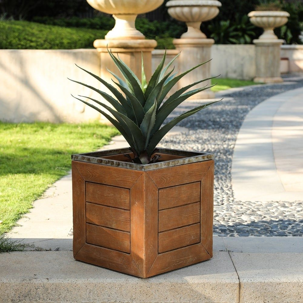 086f241d66b1ae392d96158a804f2c35 - Better Homes And Gardens 18 Planter Brown