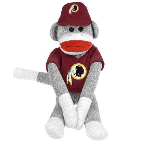 Washington Redskins NFL Plush Uniform Sock Monkey