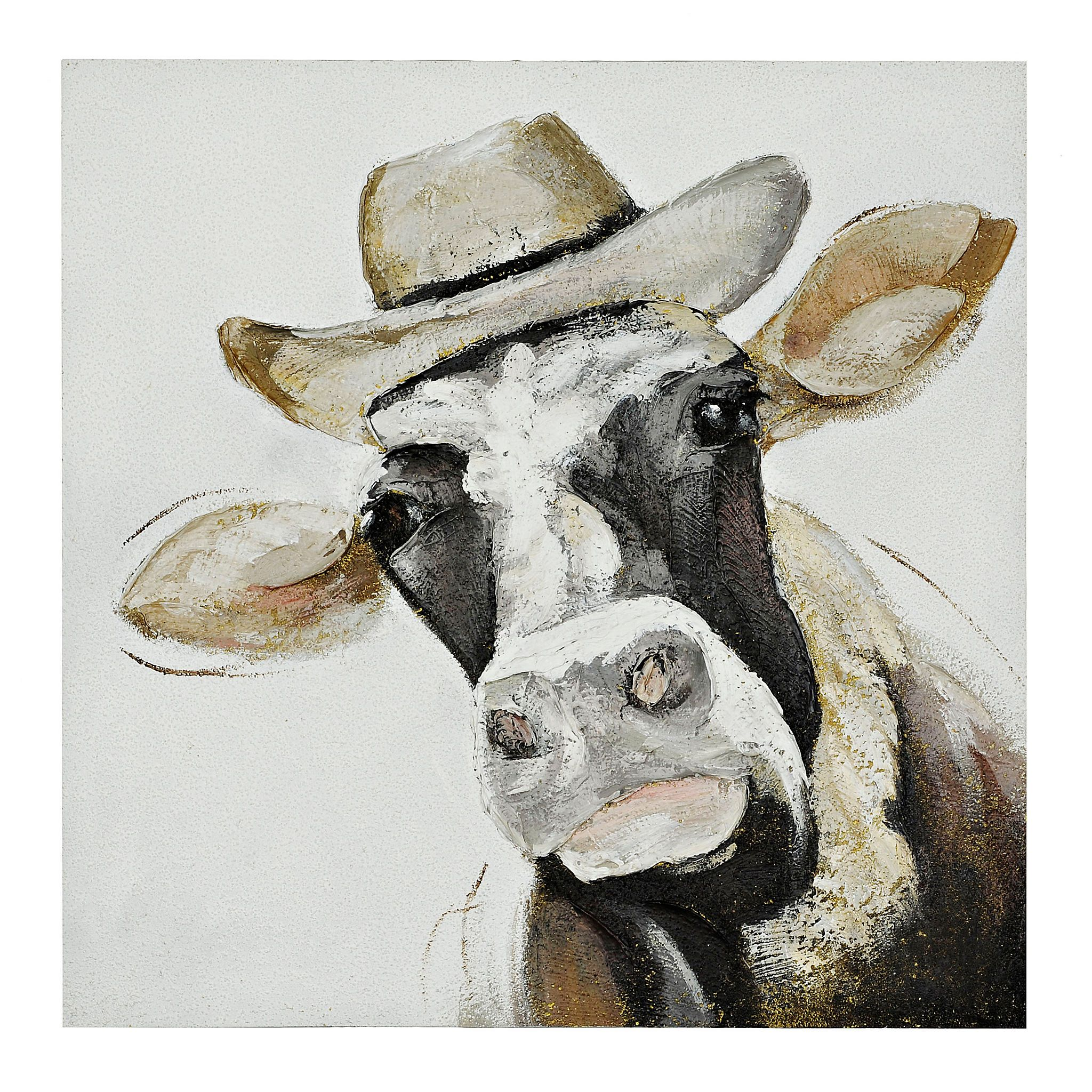 Fred the Cow Canvas Art | Pinterest | Interiores