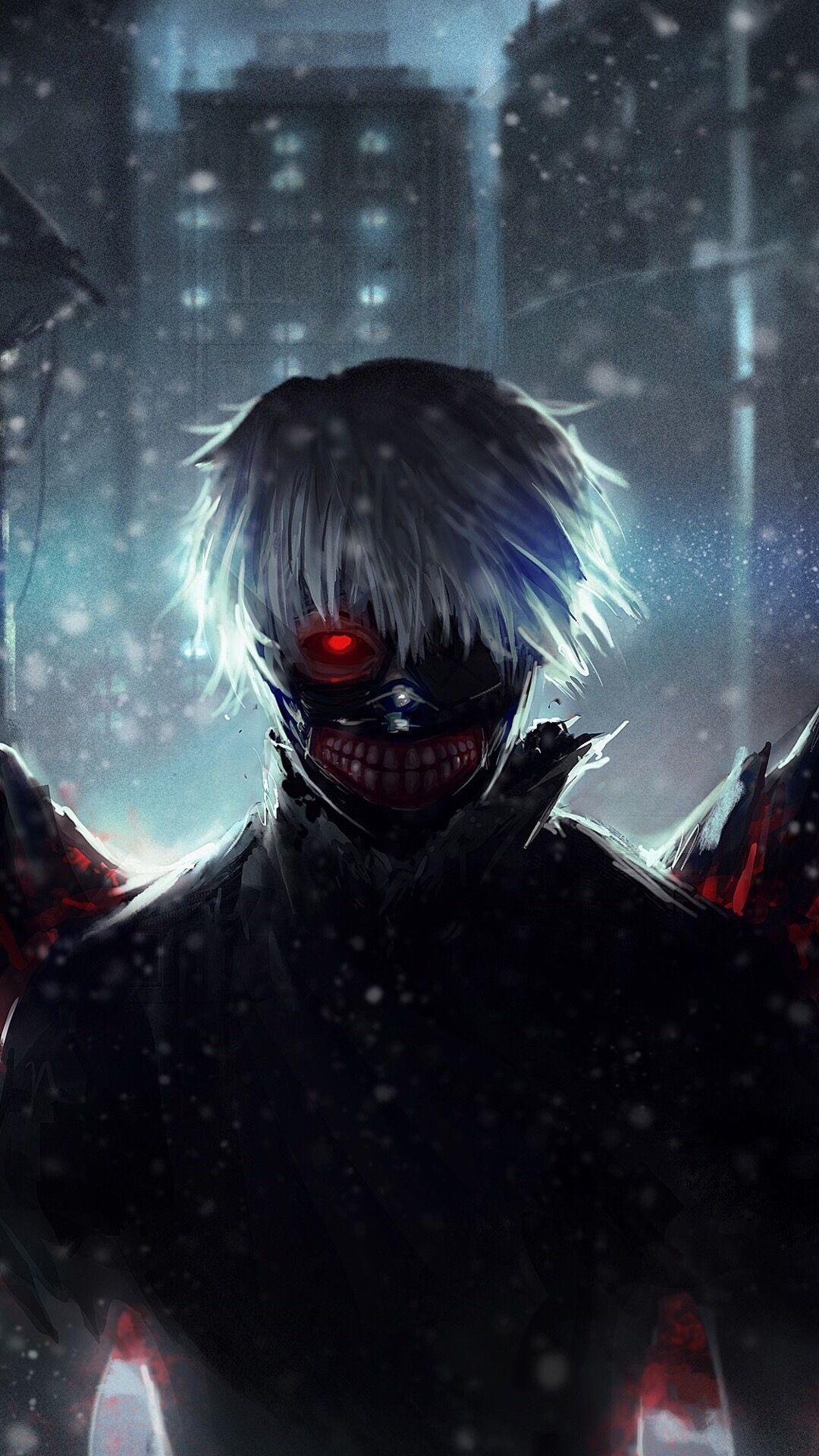 Tokyo Ghoul Hd Wallpaper For Android Tokyo ghoul, Gambar