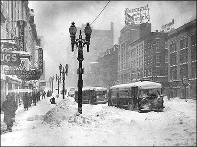 Rochester Ny 1944 Blizzard Rochester New York Upstate New