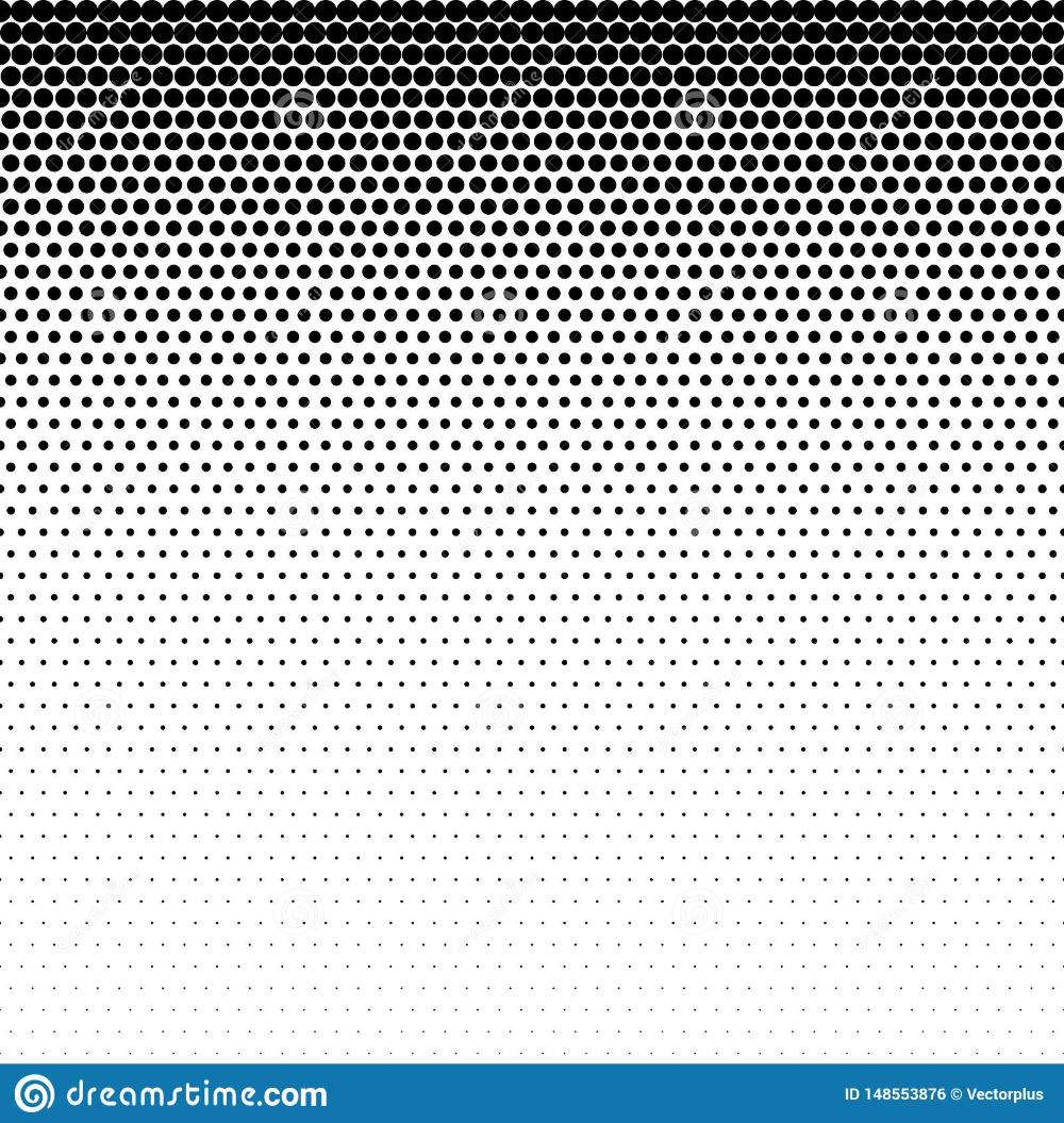 Fade Gradient Pattern Vector Gradient Seamless Background Gradient Halftone Texture Stock Illustration Illu In 2021 Seamless Background Halftone Stock Illustration