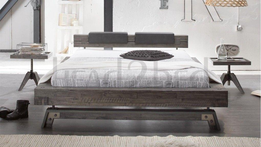 Hasena Stabil Inca Nakio Vintage Acacia Bed Bed Contemporary