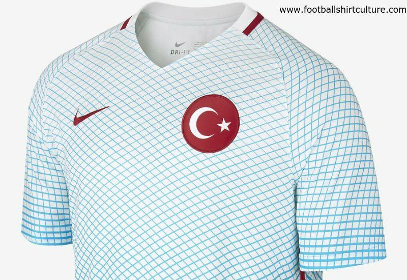 f539f9c2834 Turkey 2016 Nike Away Football Shirt | 16/17 Kits | Football shirt blog