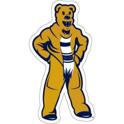 Penn State Nittany Lion Mascot Car Magnet 8 Inch Nittany Lions