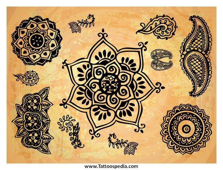 Lotus Flower Henna Tattoo Designs: Lotus Flower Henna Tattoo Designs 8
