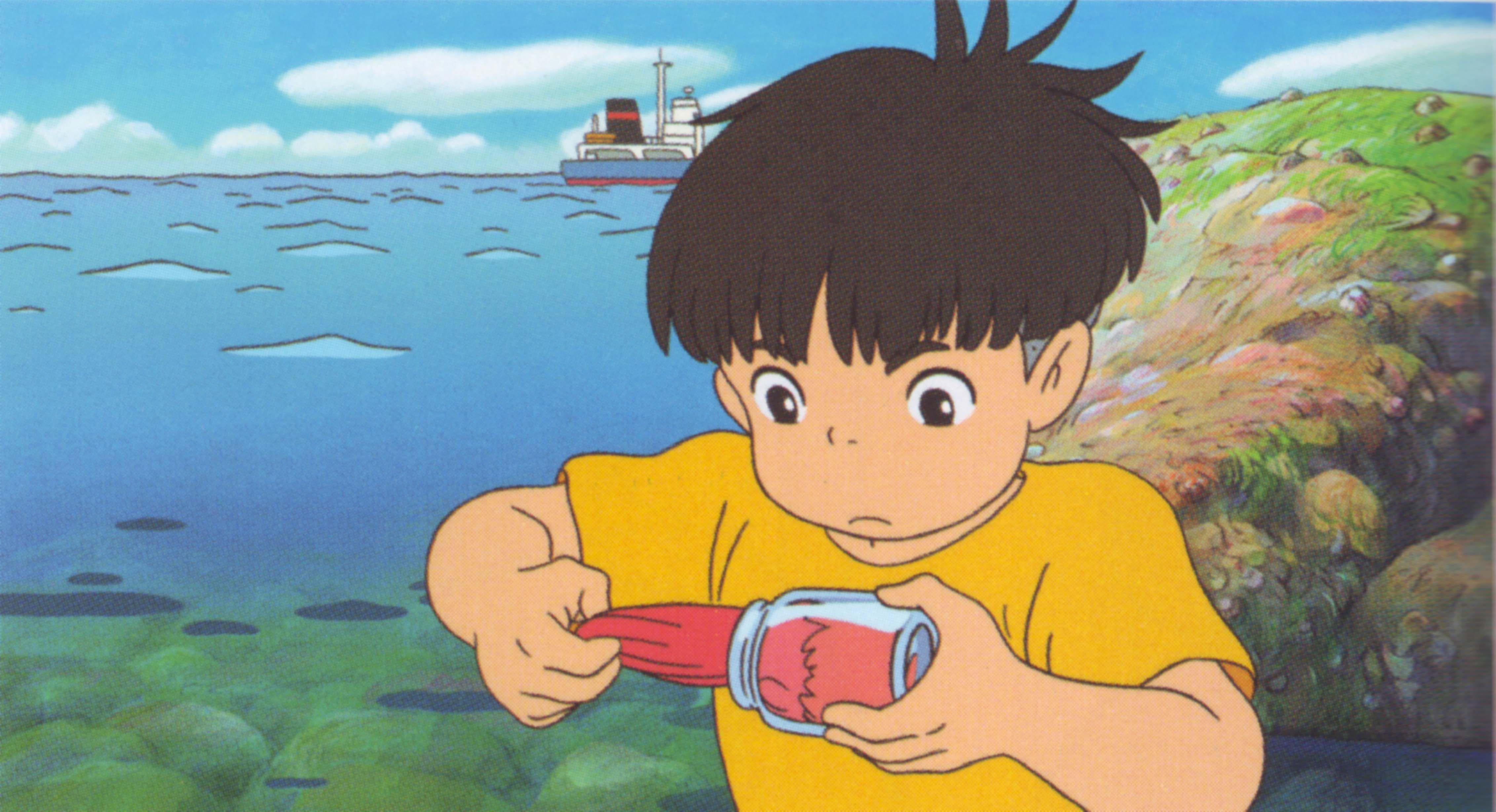Download Gake no Ue no Ponyo Ponyo94 (4527x2458) Minitokyo