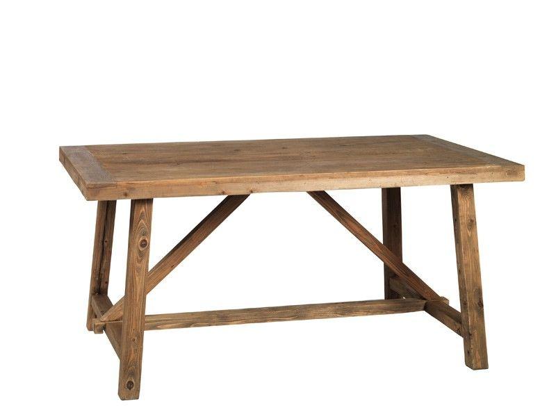 Hunter+Spisebord+-+Vintage+spisebord+til+6+personer+fremstillet+af+ ...