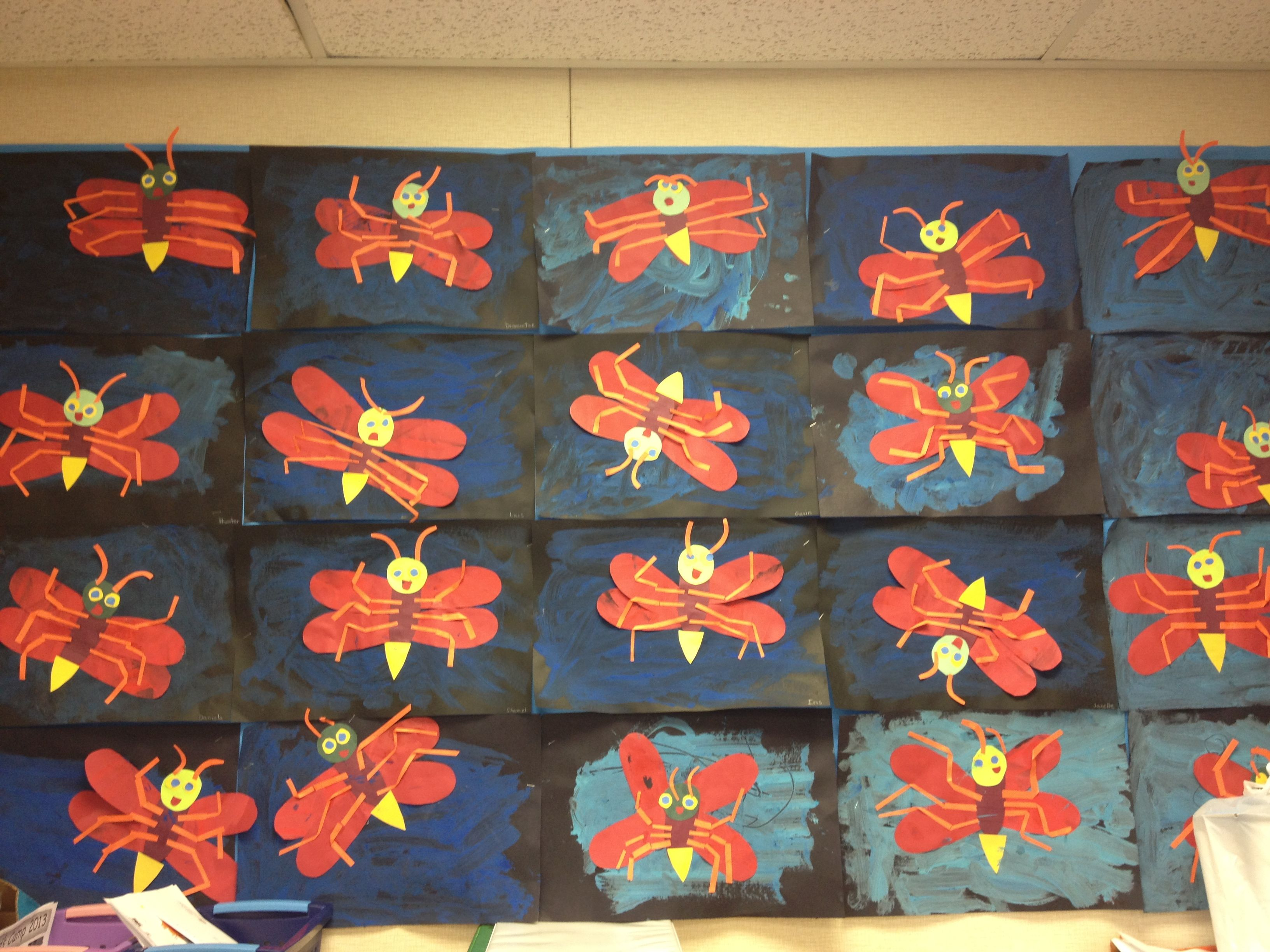 Eric Carle- The Lonely Firefly | classroom bulletin boards ...