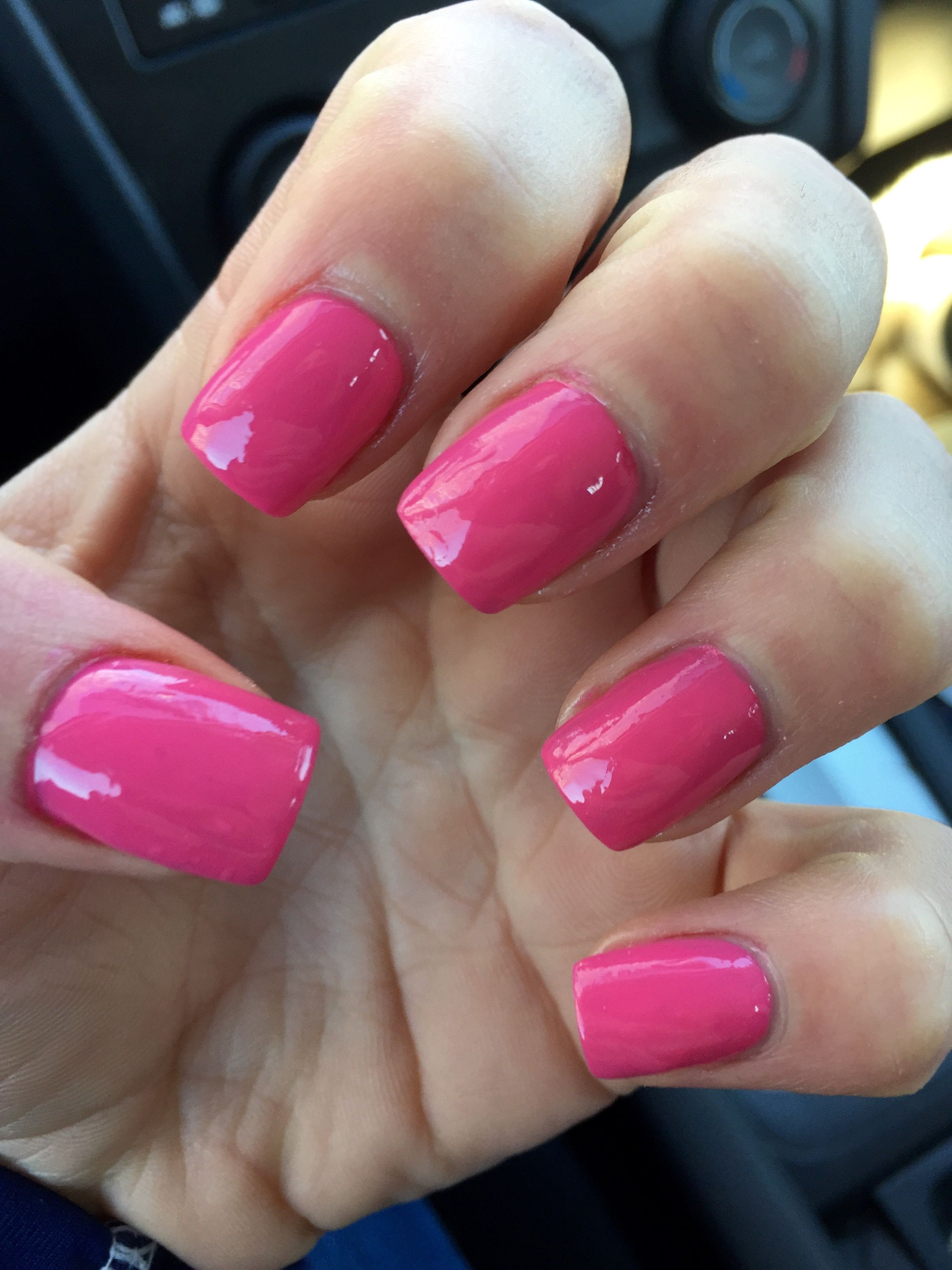 Beautiful pink acrylic nails double team dynamicpunch