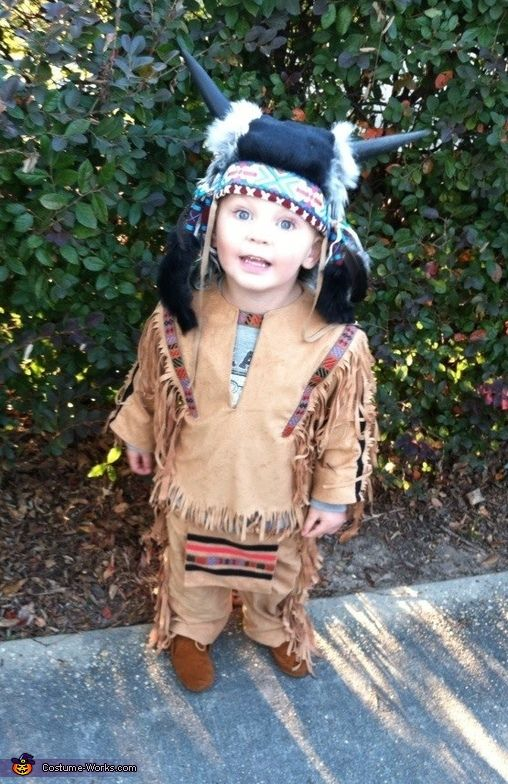 This homemade costume for babies entered our 2012 Halloween Costume Contest. & Indian Chief - Halloween Costume Contest at Costume-Works.com ...