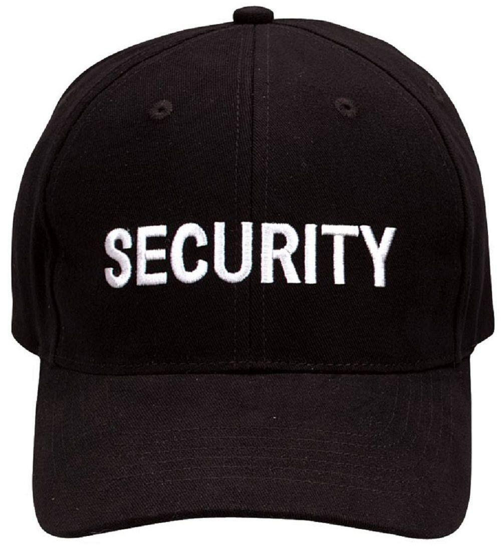 Security Supreme Low Profile Insignia Cap Black 9282 Rothco  ebay  Fashion 4a94b03864a