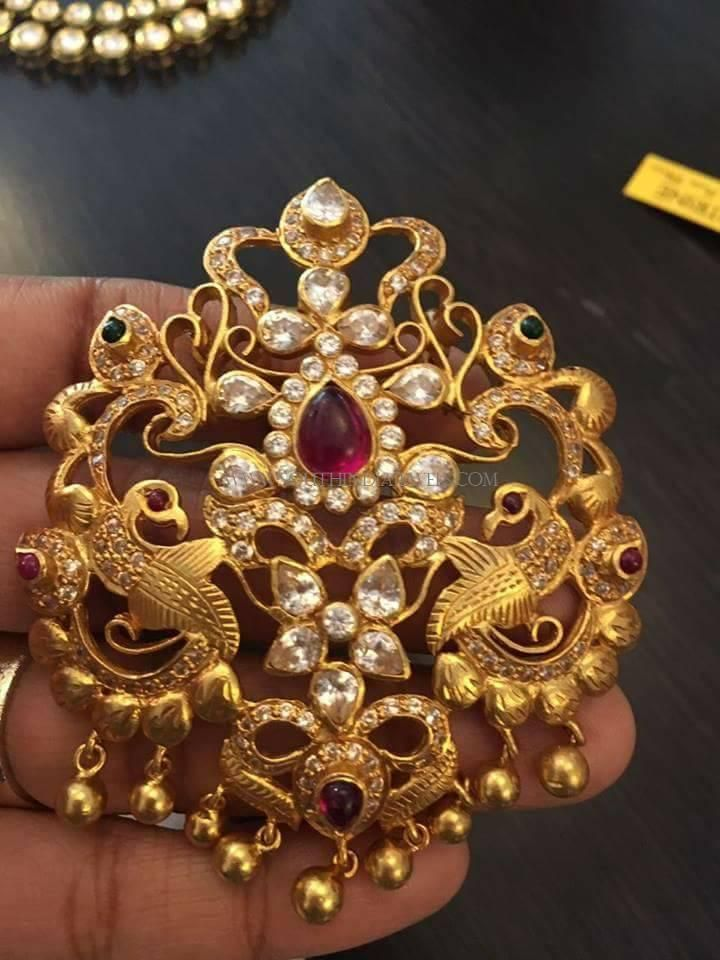 bfec30e5b10 Peacock Pendant for Necklace | antique_jewellery | Jewelry, Gold ...