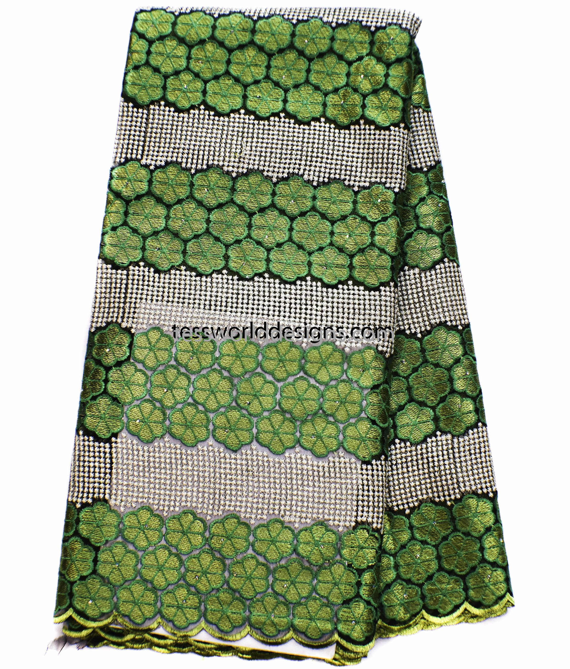 d73758feb3 African lace fabric, wholesale/ green French lace/ African lace ...