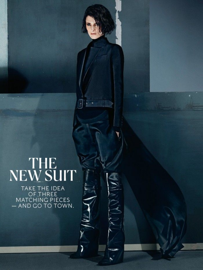 More Dark Hero Style via The New York Times Style Magazine