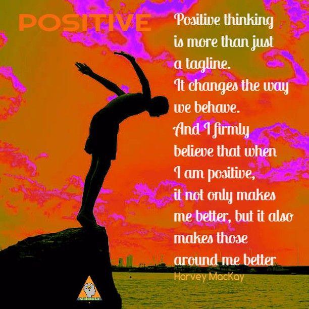 Nature Flatdesign: Keep A Positive Outlook #beautiful #success #motivational