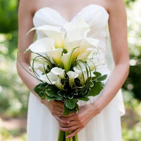 Callilily bouquet