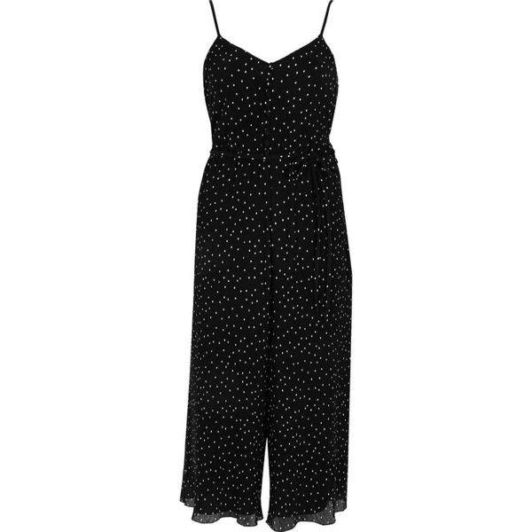 b799a2f2ca River Island Black spot cami culotte jumpsuit (6