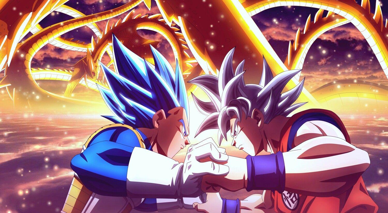 Goku UI vs Vegeta SSB Evolution | Dbz | Pinterest | Dragon ...