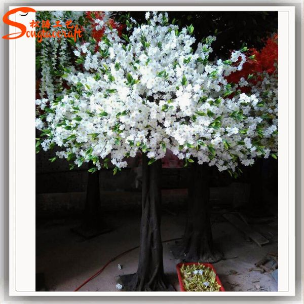 Https Www Alibaba Com Product Detail Indoor White Artificial Silk Cherry Blossom 60379171278 Html Artificial Cherry Blossom Tree Cherry Blossom Tree Blossom