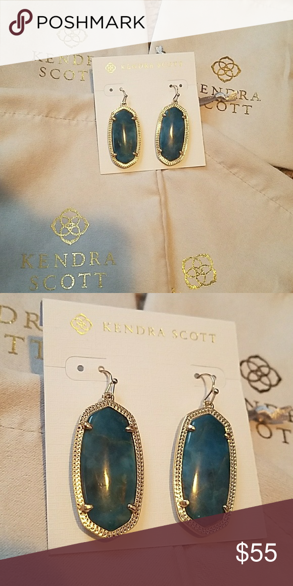5cf500134 Nwt kendra scott brass Elle earrings Brand new with tags. Comes with new Kendra  Scott gray dust bag. Will be shipped same or next day. Bundle for better ...