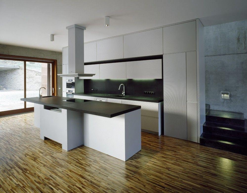 Terrace House / Pavel Hnilicka Architekti - ideen offene küche wohnzimmer