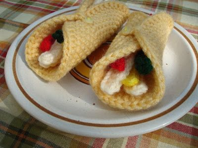 Nyanpons Knits And Crochet Mexican Dinner Amigurumi Pinterest