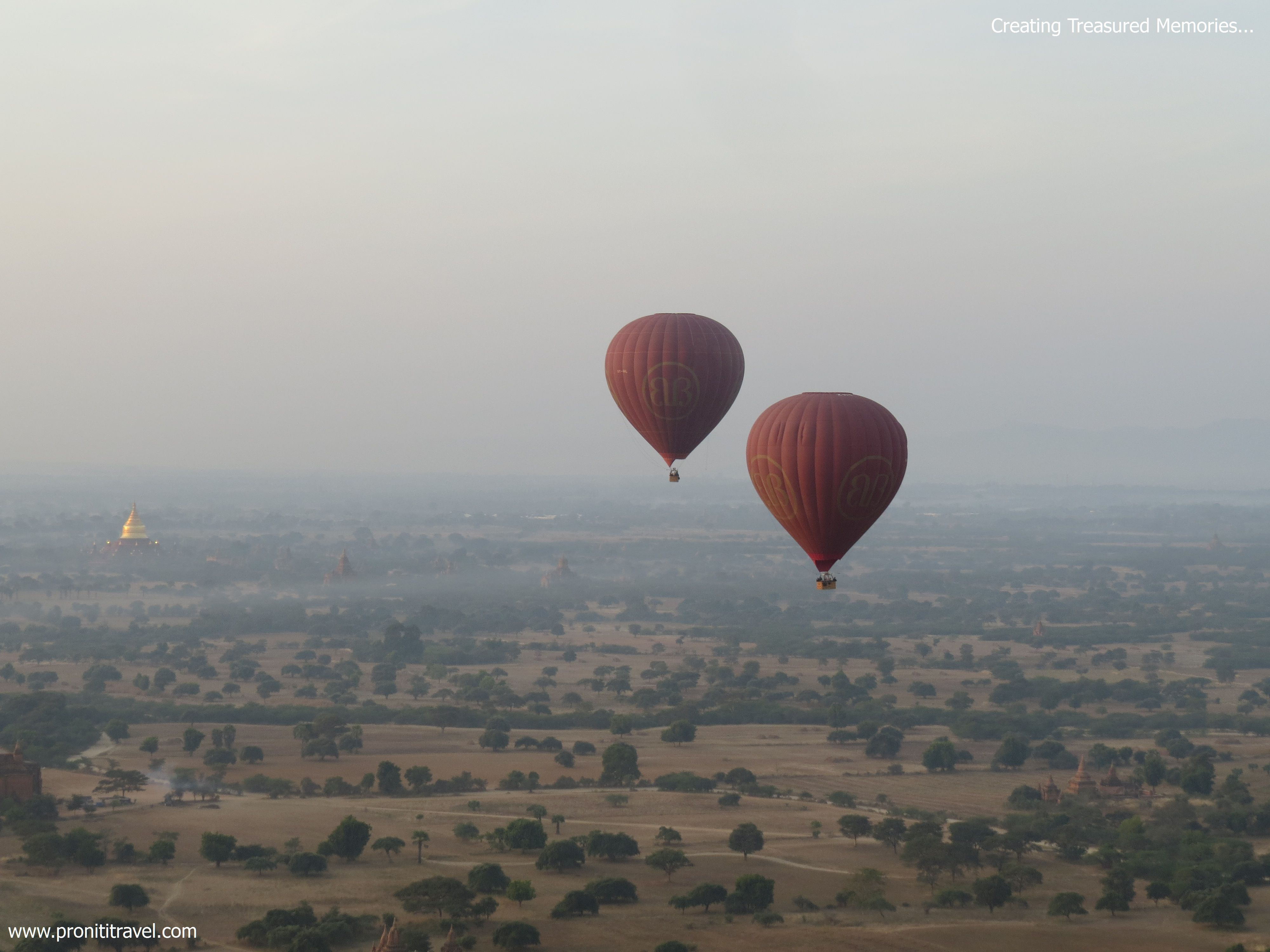 Ballooning Over Bagan is what you must try at least once in your life time for your memories.