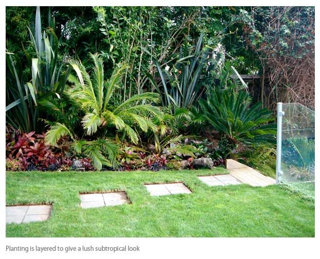 Subtropical Gardens Google Search Large Backyard Landscaping Backyard Garden Landscape Small Backyard Gardens
