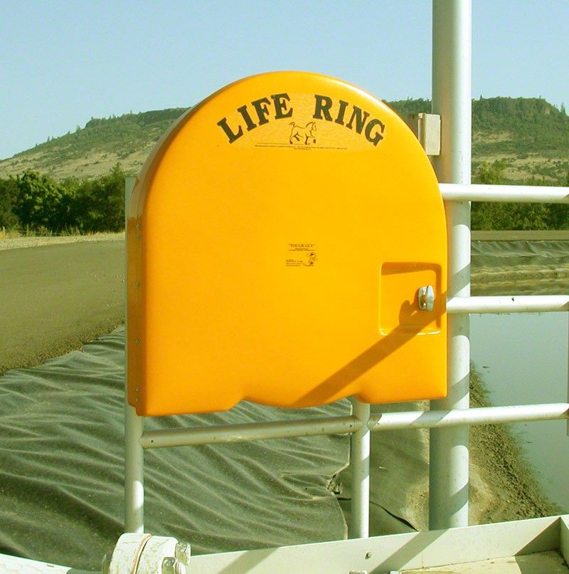 Life Ring Buoy Cabinet For 30 Inch Life Ring With Non